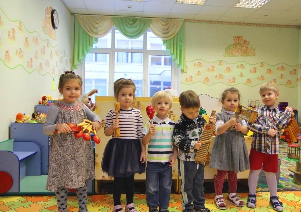 Картинка музыкального занятия в детском саду